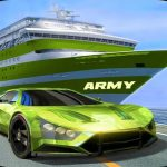 Army Truck Car Transport Game