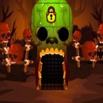 Brown Skull Forest Escape