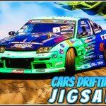 Cars Drifting Jigsaw