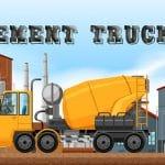 Cement Trucks Hidden Objects