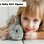 Hare Baby Girl Jigsaw