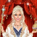 Royal Dress Up Queen Fashion Game for Girl