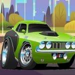 Speedy Muscle Cars Jigsaw