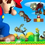 Super Mario Shooting Zombie