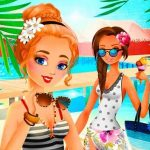Vacation Summer Dress Up Game for Girl